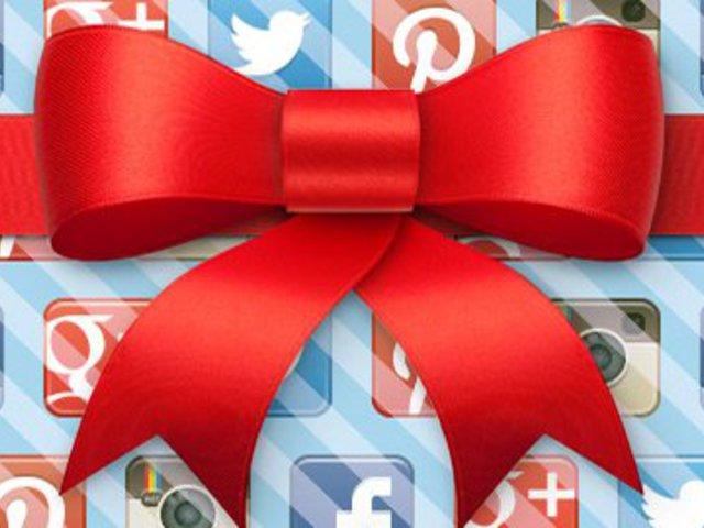 Karácsonyi ajándék? A közösségi média segít!
