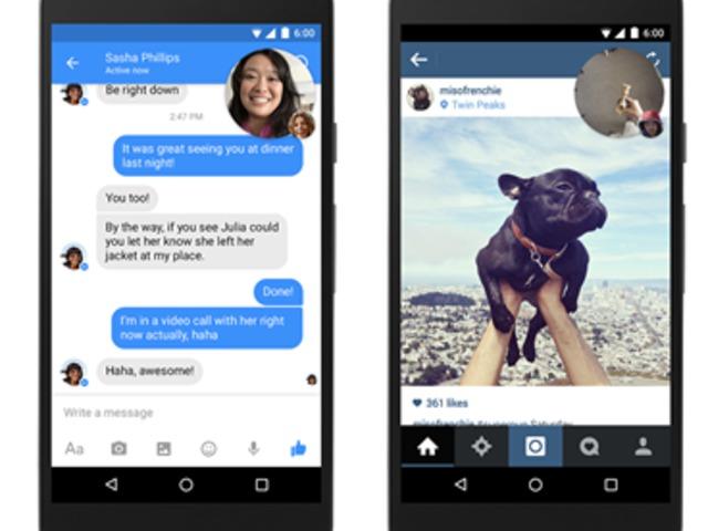 ÚJDONSÁG! Facebook Video Chat a Messenger fejlécében