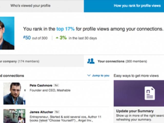 Rangsorol minket a LinkedIn