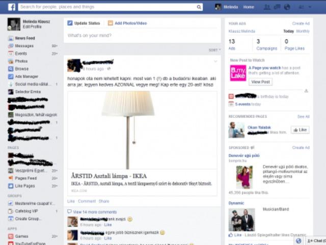 Új napra virradt a Facebook-on!