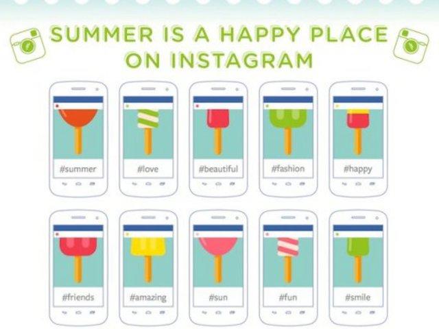 A nyár a legjobb ismerkedésre, hashtagelésre és fényképek feltöltésére!