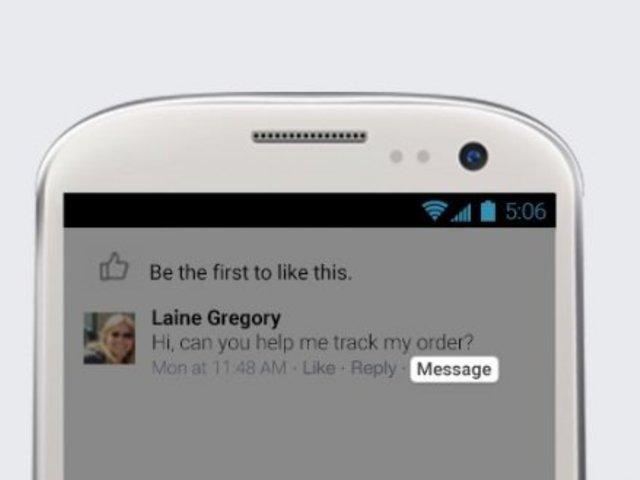 Változás a Facebook üzenetekben