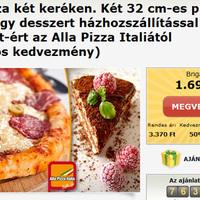 Újra pizzás akció a Bónusz Brigádnál!