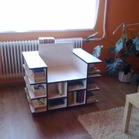 könyves fotel