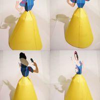 Disney hercegnők papírból