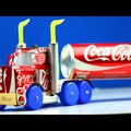 Kreativ apukáknak - Colás dobozból kamion