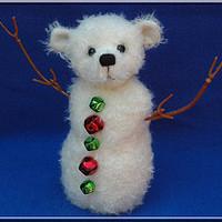 Maci hóember szabásminta
