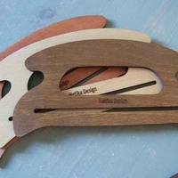 Táskafül fából