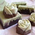 Citromos-csokoládés szappan