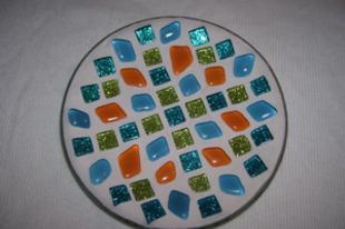 Mozaik tányér