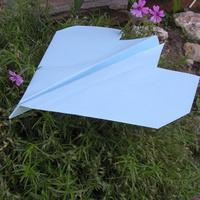 Papírrepülő hajtogatása
