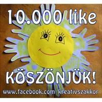 10.000 like Facebook oldalunkon! :)