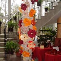Virágoszlop dekoráció