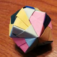 Origami labda 1.
