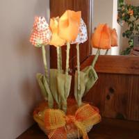 Vidám tulipánok tavaszra