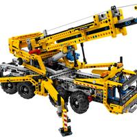 Ezt rejtette a doboz: LEGO Technic 8053 Mobile Crane
