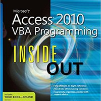 Microsoft Access 2010 VBA Programming Inside Out Download