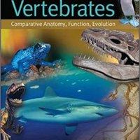;PORTABLE; Vertebrates: Comparative Anatomy, Function, Evolution. hablando limited aceite hospital musig