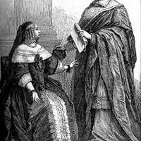 A királyné és a bíboros (a rejtjelezett szerelem sorozatból)