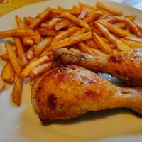 Mézes-mustáros csirkecombok