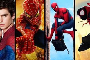 A Pókember-filmek toplistája