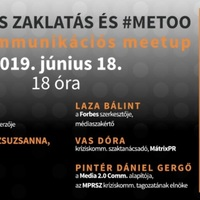 Szexuális zaklatás és #metoo- Kríziskommunikációs meetup