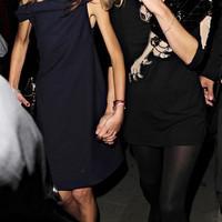 Allegra Versace és Kate Moss