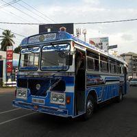 A Srí lankai buszsofőrről