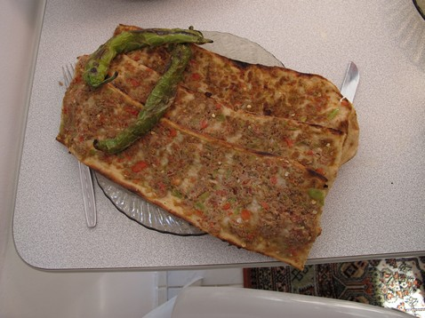 Konyai pizza