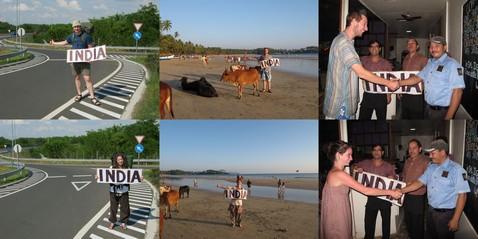 Megérkezés Indiába
