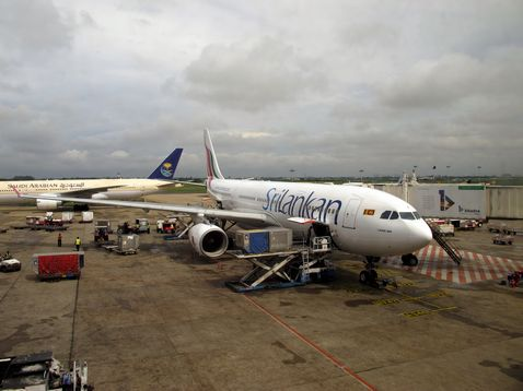 Sri Lankan Airlines gép