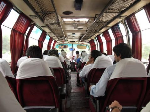 Iráni busz Tabriz