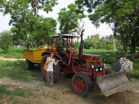 Pakisztáni traktor