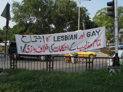 Lesbian-gay transzparens