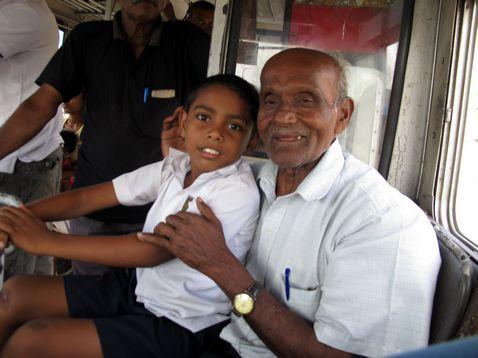 Sri Lankai bácsi a buszról