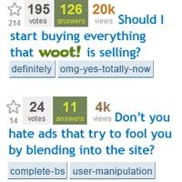 StackOverflow hirdetések