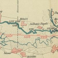 490. Rába-térkép 1873-ból