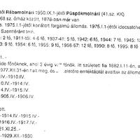 748. A molnári állomásfőnökök 1990-ig