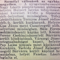 1047. Személyi változások az egyházmegyében (1941.)