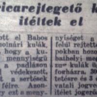 727. Rövidhírek 1951 januárjából