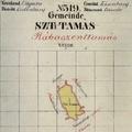 736. Szenttamás kataszteri térképe 1857-ből