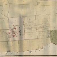 718. Szenttamás község tagosított határának térképe