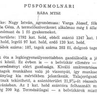 794. A községi termelőszövetkezet 1965-ben