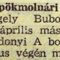 397. Rövidhírek 1957 elejéről