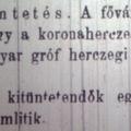 285. Bulvárhírek 1881-ből