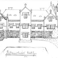 55. A molnári kastély rajza 1923-ból