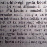 139. Bulvárhírek 1869-ből