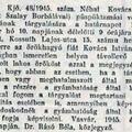 1066. Hozzátartozók keresése 1945.