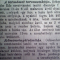 602. Újabb bulvárhírek 1885-ből