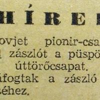 178. Rövidhírek 1958. novemberéből